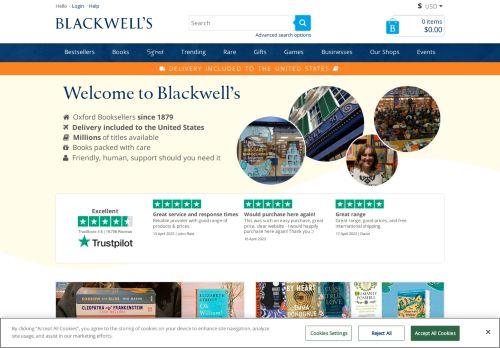 Blackwell's Online Bookshop