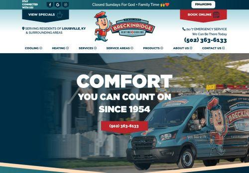 Breckinridge Heating & Cooling  | HVAC Repairs in Louisville, KY