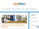 Eco-Pro Cleaning Services | Carpet Cleaning in Gatineau QC