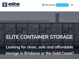Elite Container Storage | Storage in Gold Coast of Australia