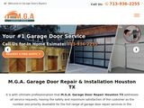 M.G.A. Garage Doors | Garage Door Repair services in Houston TX