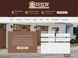 M.G.A Garage Door Repair The Woodlands TX