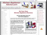 Kitchen Appliance Advisor