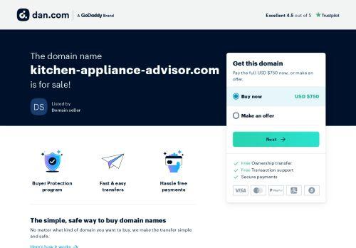 Kitchen Appliance Advisor