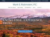 Mark S. Rubinstein, P.C. | Criminal Defense and Personal Injury attorney in Colorado