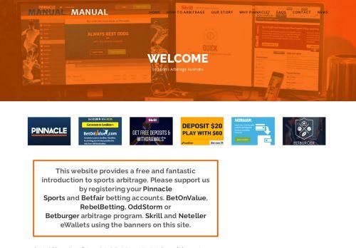Sports Arbitrage Australia