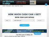 Car Title Loans in Vallejo CA