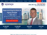 Wolfson Law Firm, LLP | Miami FL Car Accidents and Personal Injury Attorneys