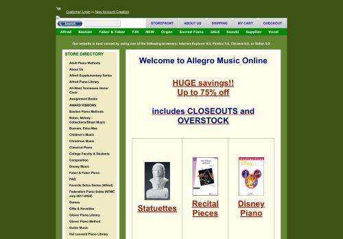 Allegro Music Online