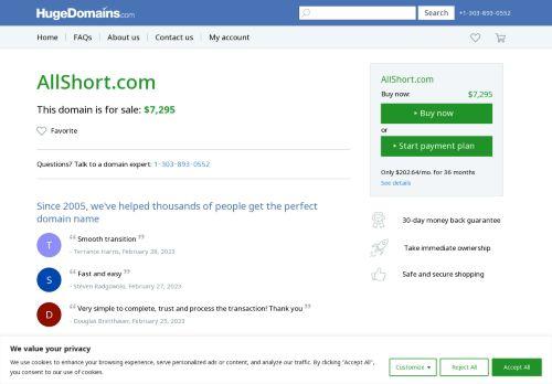 AllShort Web Directory