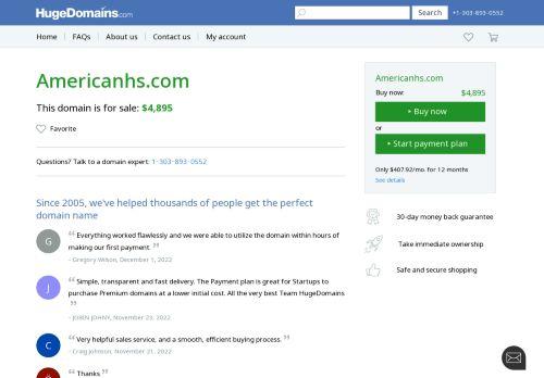 American Healthcare Solutions, LLC: Interim Management