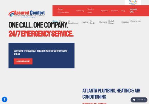 Assured Comfort | Heating, Air and Plumbing in Atlanta and Cobb county GA