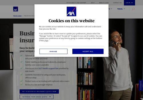 AXA UK: Business Insurance