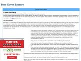 Best Cover Letters, Inc.