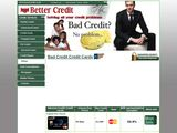 Better Credit: Bad Credit Cards