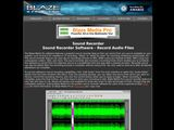 Blaze Media Pro: Sound Recorder