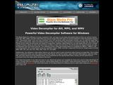 Blaze Media Pro: Video Decompiler