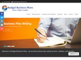 Budget Business Plans