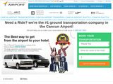 Cancun International Airport | Official Ground Transportation Shuttle