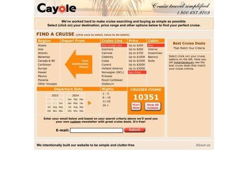 Cayole Cruises