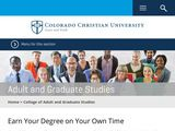 Colorado Christian University: College of Adult and Graduate Studies