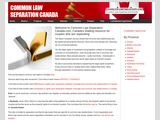 Common Law Separation Canada