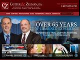 Cotter & Zelman, P.A. | Personal Injury, Criminal Defense and Family Law Attorneys in Winter Park FL