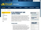 Drexel Online: Criminal Justice Degrees