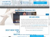 Matthew Schulman, M.D. | Plastic surgeon in New York NY