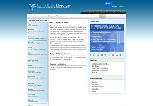 Earth Web Directory