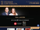 Eighmie Law Firm, P.A. | Port St. Lucie, Stuart & Fort Pierce FL Personal Injury attorneys