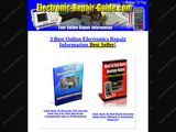 Electronic repair guide