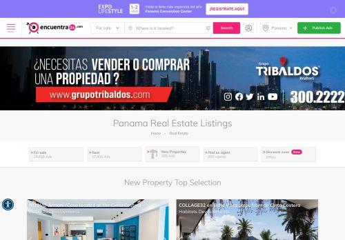 Encuentra24.com: Panama Real Estate