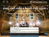 Entertainment Nation | Hire A Band & Book Live Performers UK