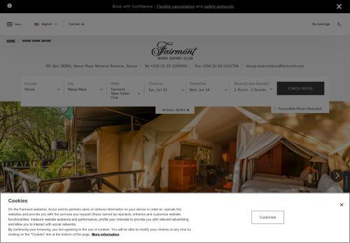 Fairmont: Mara Safari Club