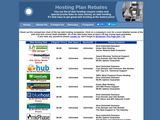 Hosting Plan Rebates