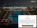 Jumeirah International LLC: Zabeel Saray