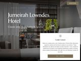 Jumeirah International LLC: Lowndes Hotel