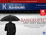 The Law Office of Julia Kefalinos, Attorney, P.A. | Bankruptcy Attorney in Miami FL