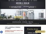 Kevin J. Kulik, P.A. | Criminal defence attorney in Fort Lauderdale FL