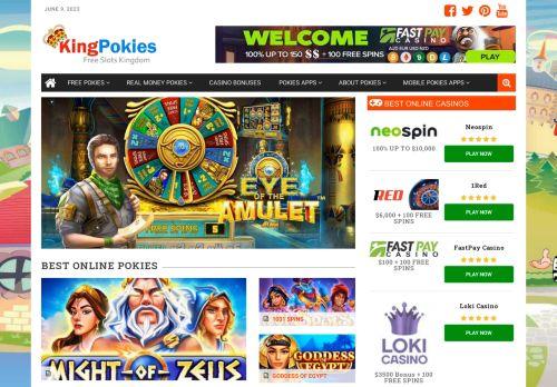 King Pokies | Play Free Pokies Online