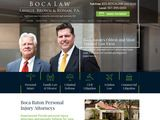 Lavalle, Brown & Ronan, Attorneys at Law | Personal Injury lawyers in Boca Raton FL