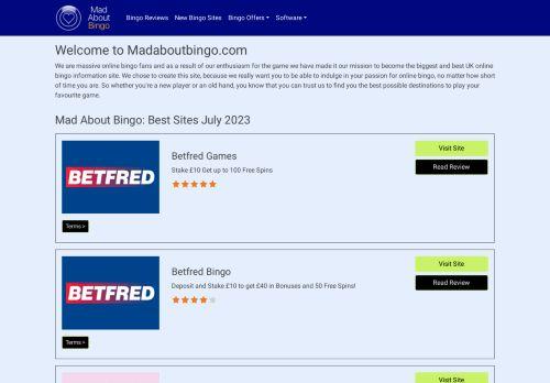 Madaboutbingo.com