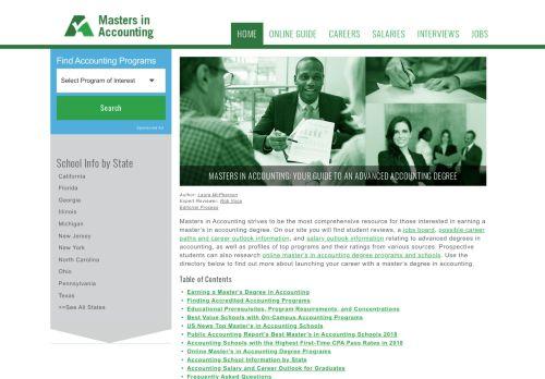 MastersInAccounting.info