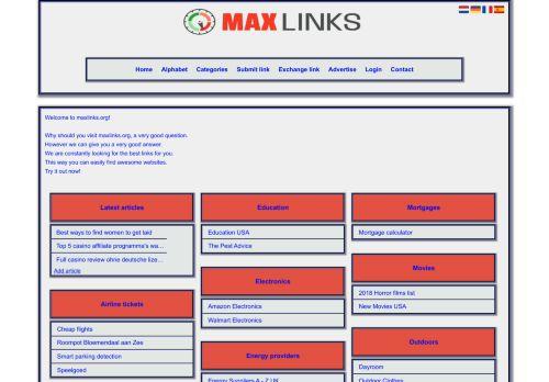 MaxLinks