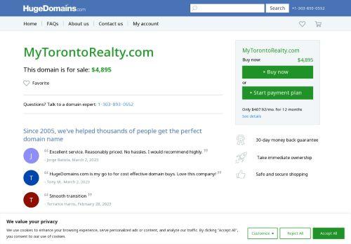 My Toronto Realty