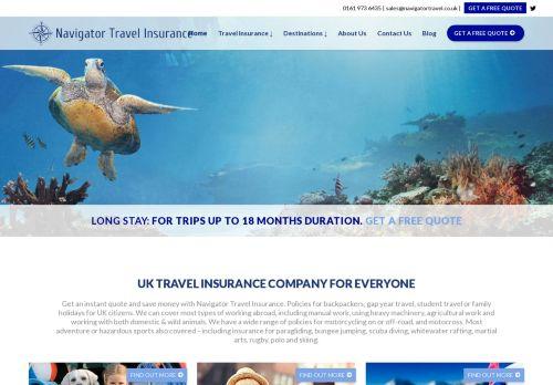 Navigator Travel Insurance