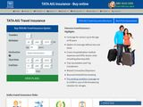 NRIOL: TATA AIG Travel Insurance