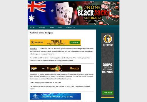 Onlineblackjackaustralia.com