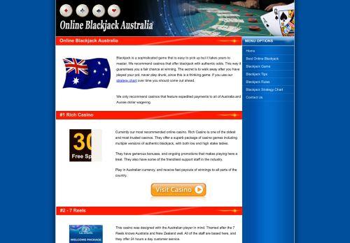 Online Blackjack Australia.org